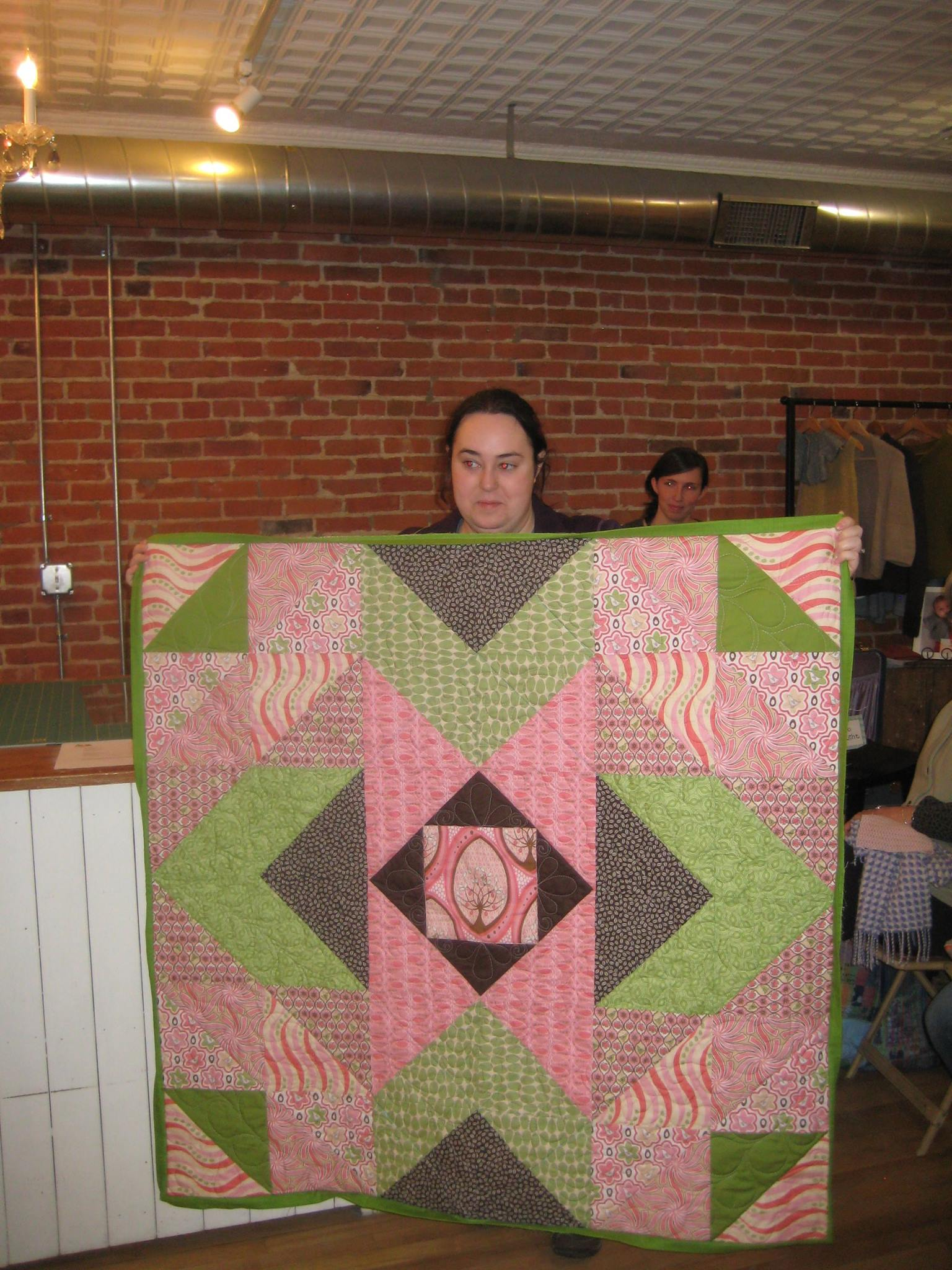 Rachael's Baby quilt.