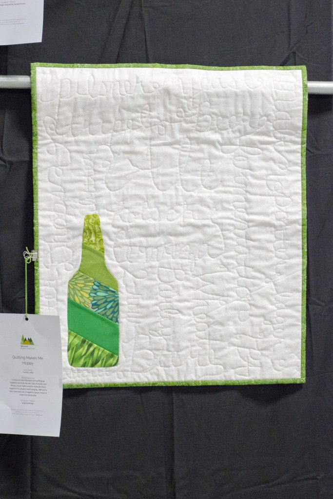 Quilting Makes Me Hoppy by Tammy Joho