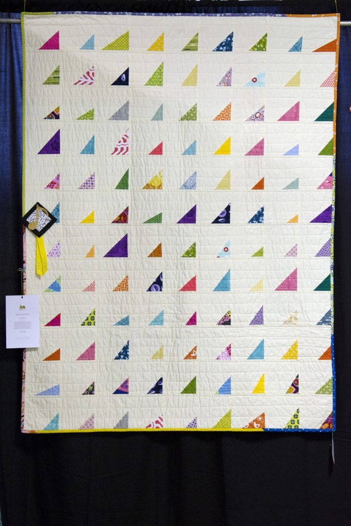 Color Shard Quilt by June Shen-Epstein